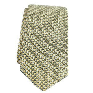 Brooks Brothers YELLOW Novelty Tie, Octopus